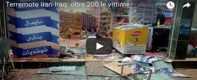 Devastante terremoto al confine tra Iran e Iraq:  214 morti e 2.504 feriti (Video)
