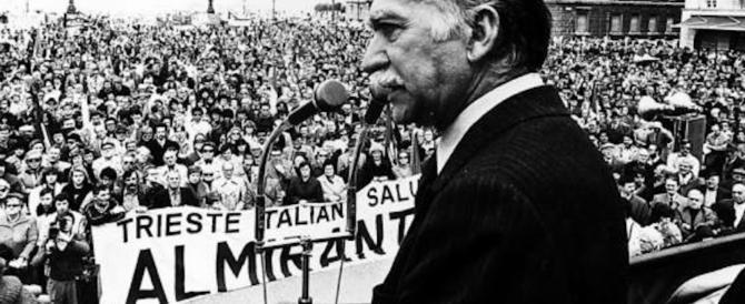 Una via per Almirante a Trieste. Il Pd indice un sit in di protesta (video)