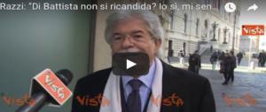 Razzi, incredulo su Di Battista annuncia: «Io mi sento giovane e forte. Mi ricandido» (VIDEO)