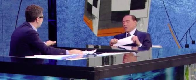 """""""A Berlusconi nessuna domanda scomoda"""". Il Fatto processa Fazio (video)"""