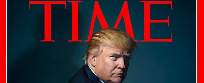 """Il gran rifiuto di Trump: dice no al """"Time"""" che lo voleva """"Uomo dell'anno"""""""