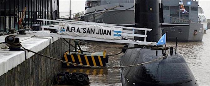 """L'Argentina ammette: """"Nessuna traccia del sottomarino e l'ossigeno è alla fine"""" (video)"""