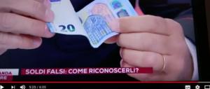 Banconote false nei negozi di 21 città da Taranto a Cosenza: ecco come riconoscerle (VIDEO)