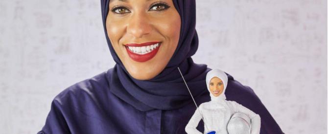 Non poteva mancare la Barbie con il velo islamico: ha il volto di una campionessa