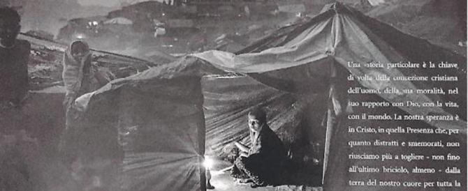 Socci contro il volantino di Cl: «Al posto del presepe un campo profughi»