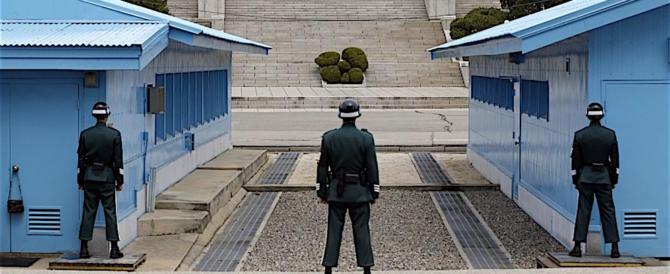 38° Parallelo: scene da Guerra Fredda, ferito nordcoreano in fuga (video)