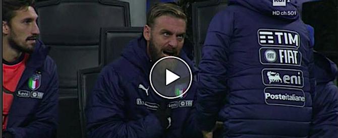 De Rossi si rifiuta di eseguire gli ordini di Ventura: gesto nobile o vigliacco? (video)