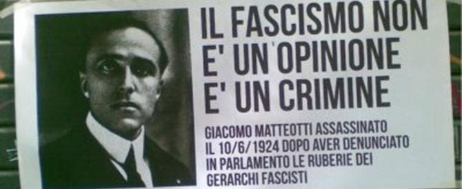 Un'altra assurdità: le dichiarazioni d'antifascismo per avere le piazze