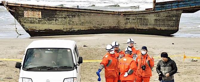 """Trovati sulle coste giapponesi otto scheletri di """"balseros"""" nordcoreani"""