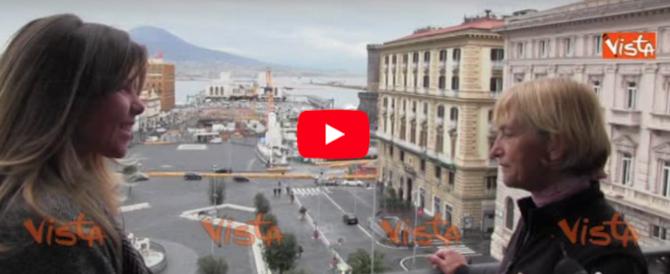 Ripercorre a piedi il Grand Tour di Goethe: Vienna Cammarota arrivata a Napoli