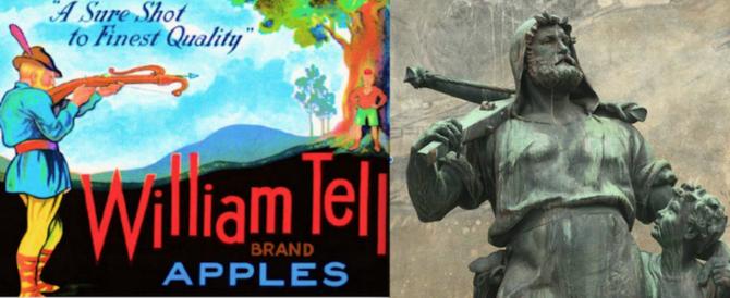 710 anni fa Guglielmo Tell colpiva la mela sulla testa del figlio Gualtierino (video)