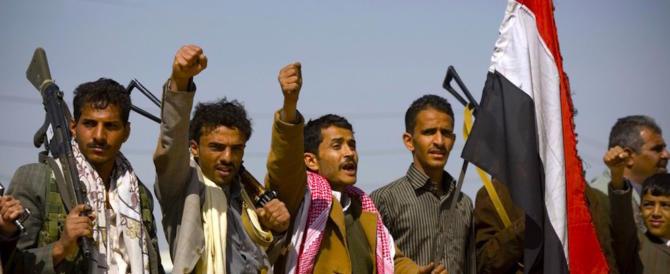 Yemen, Riad e Washington accusano l'Iran di armare i ribelli houthi