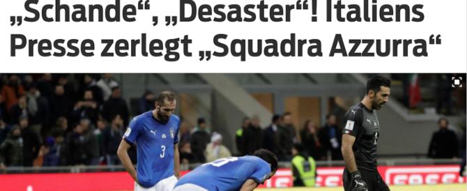 Mondiali, dileggio e irrisioni sui siti stranieri per la squadra azzurra