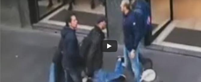 I ladri rumeni a lezioni di furto: ecco come svaligiano le nostre case (video)