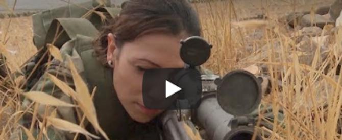 Siria, tra i cecchini anti-Isis spuntano le leonesse di Assad (video)