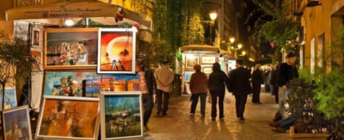 L'atmosfera magica del Natale a Roma parte da via Margutta: luci e tradizione