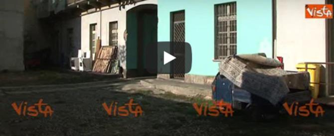 Torino, lite in un condominio: marocchino ferisce il paciere (video)