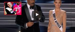 Miss Universo è sudafricana:  la comunità nera l'accusa di razzismo (video)