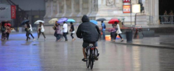 Da domenica meteo da brivido: vento, piogge e nubifragi in arrivo