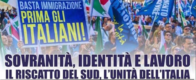 Il Polo sovranista si riunisce a Napoli: «Con la Lega ora pensiamo al Sud»