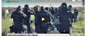 """Sos Venezia, il sindaco: """"Bisogna dire alla gente dell'Africa che qui non si può più entrare"""" (VIDEO)"""