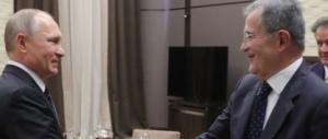 Prodi incontra privatamente Putin: che cosa ci è andato a fare in Russia?