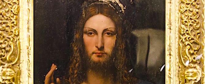 """Base d'asta record per il """"Salvator Mundi"""" di Leonardo: 100 milioni"""