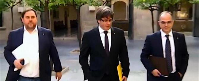 Il processo contro i separatisti catalani andrà al Tribunale supremo di Madrid