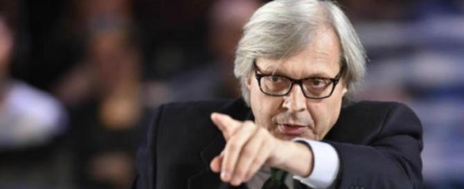 Sgarbi: «La Boldrini mi dà l'orticaria. Mai una parola sulla Petacci: fu femminicidio»