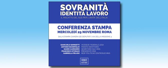 Mns, appuntamento il 7 dicembre a Napoli: lavoro e riscatto del Sud