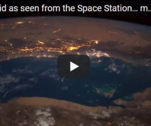 Immagini spettacolari dallo Spazio: un asteroide in fiamme sfreccia a 144.000 Km/h (VIDEO)