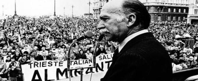 Almirante, la via a Trieste non si farà. L'Anpi: la pacificazione nazionale non è possibile