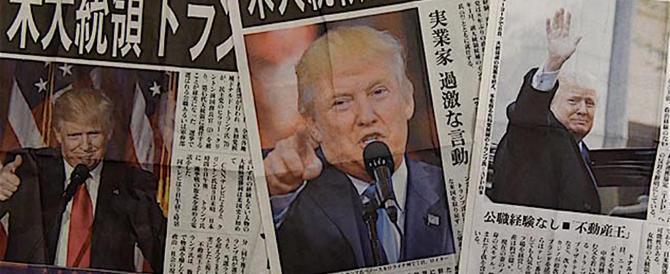 Trump a Tokyo: costruire le vostre auto in Usa anziché portarcele