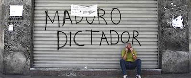 Nuovo giro di vite del dittatore rosso Maduro: ma in Italia non se ne parla