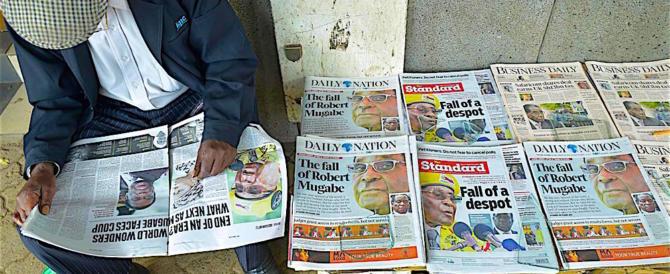 Colpo di scena nello Zimbabwe: il dittatore rosso Mugabe non si dimette