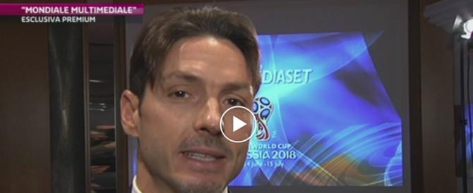"""Berlusconi jr: """"Così Mediaset ha soffiato i Mondiali alla Rai"""" (video)"""