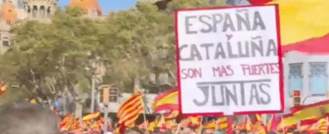Catalogna, dopo i tribunali, la parola alla piazza: unionisti in testa nei sondaggi