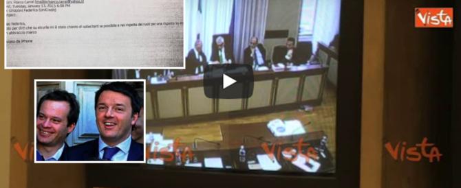 Anche Carrai, l'amico di Renzi, si interessò per Etruria: ecco la mail (video)