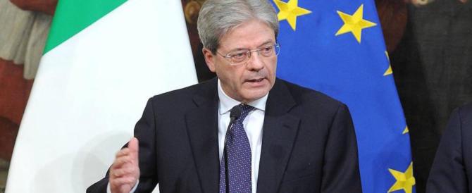 """Gentiloni """"avvisa"""" Salvini e Di Maio: """"Su Europa e migranti non si cambia"""""""