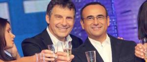"""Frizzi a sorpresa in tv alla """"Prova del cuoco"""": la Clerici si commuove (video)"""