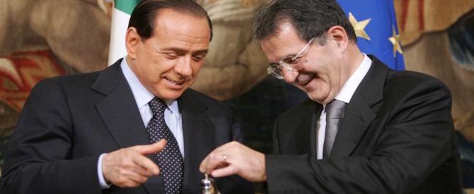 """Prodi ammette: """"Berlusconi fu fatto fuori, pagò l'amicizia con Gheddafi e Putin"""""""