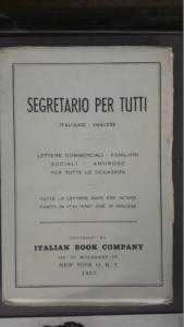 """Il """"Segretario"""" utilizzato dagli emigrati italiani per scrivere ai parenti rimasti in Italia"""
