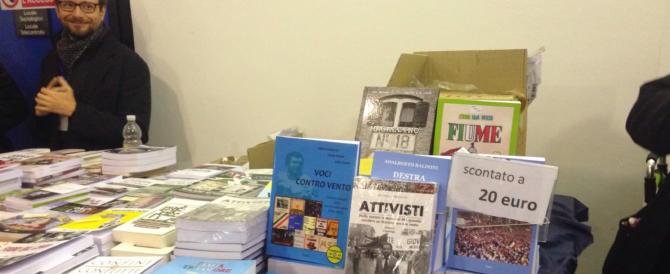 Trieste, libri, poster, ricordi e militanza alla kermesse di Fratelli d'Italia