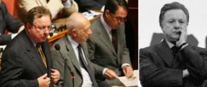 Addio a Matteoli, un politico coerente nel quale tutti avevano fiducia