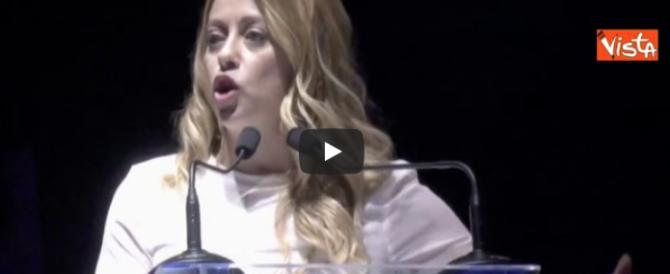 """Giorgia Meloni: """"Vi racconto come immagino i patrioti. Quelli veri"""" (video)"""