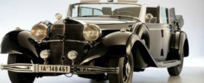 La Mercedes di Hitler all'asta: il Führer la usò dal 1939, fu un modello speciale
