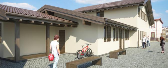 Terremoto, a Montereale un nuovo municipio in legno grazie a donazioni private