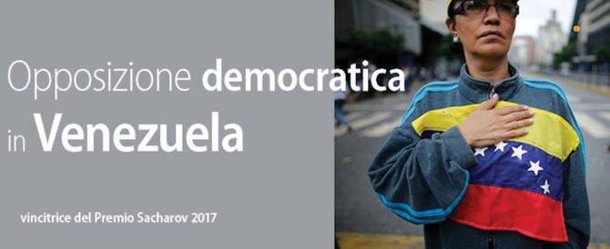 L'opposizione anticomunista venezuelana insignita del Premio Sacharov