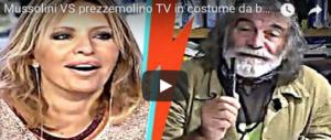 La7, volano insulti e ascolti. Mussolini asfalta Corona: litiga, saluta e lascia lo studio (Video)