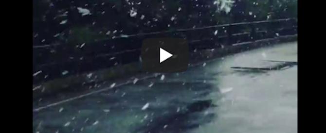 Allerta maltempo, freddo, neve e ghiaccio imperversano dal Piemonte alla Sicilia (VIDEO)